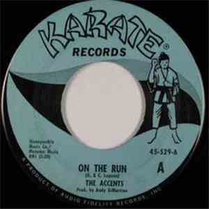 The Accents  - On The Run / He's The One mp3 download