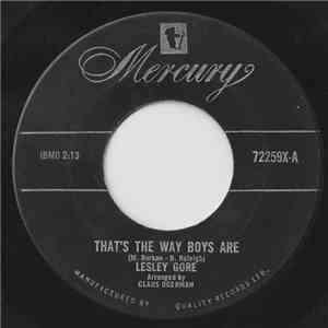 Lesley Gore - That's The Way Boys Are download mp3